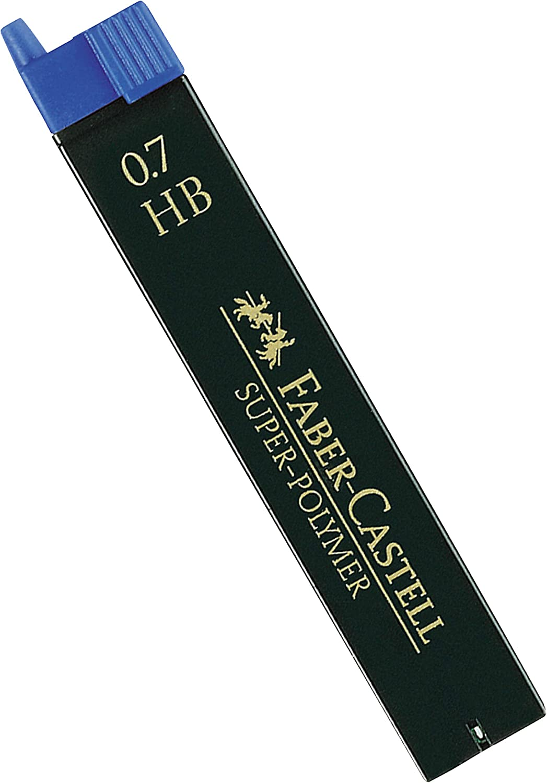 3 Dosen, 0,5 HB Faber-Castell SUPER-Polymer Feinminen