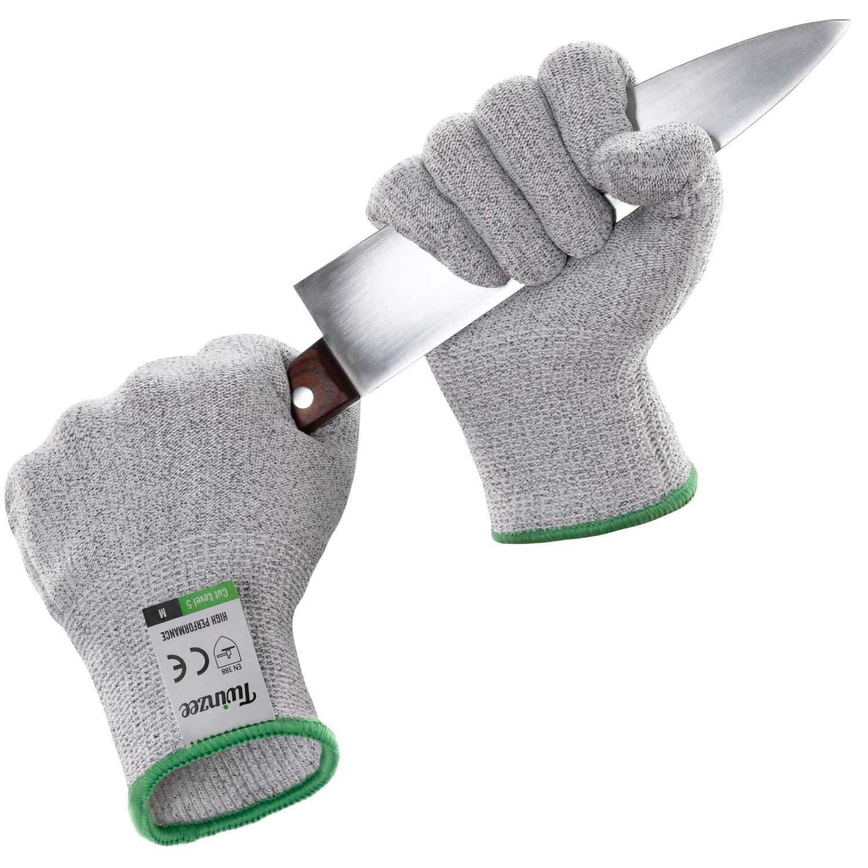 gant anti coupure cuisine Paire de Gants Anti-Coupures Twinzee, Taille L - Gant Cuisine avec  Protection de Niveau 5, Norme EN 388 - Meilleure Protection contre les  Coupures du ...