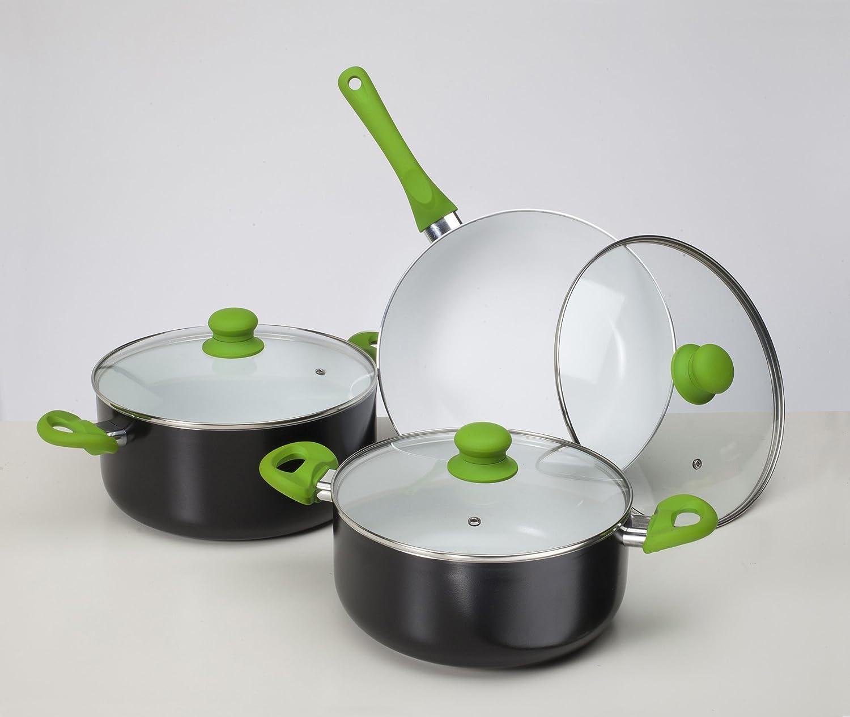 Batería de cocina ecológica Cuberland Royal, revestimiento ...