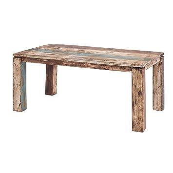 Esstisch Vintage Stil Shabby Chic Massiv Esszimmertisch Tisch 200 ...