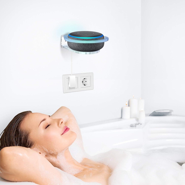 camera da letto bagno,1-Pack Cozycase Supporto da parete per Dot 4a /& 3a generazione accessori per mensole in acrilico per cucina