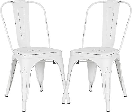 Poly and Bark Trattoria Kitchen and Dining Metal Side Chair