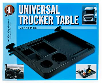 LkW Trucker Organizer Universal Ablage Truckertisch Ablagetisch Getr/änkehalter
