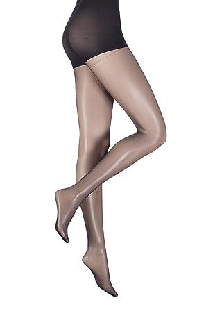 6e10681bc Ladies 1 Pair Aristoc Ultra Bare 7 Denier Sheer Shaping Tights  Amazon.co.uk   Clothing