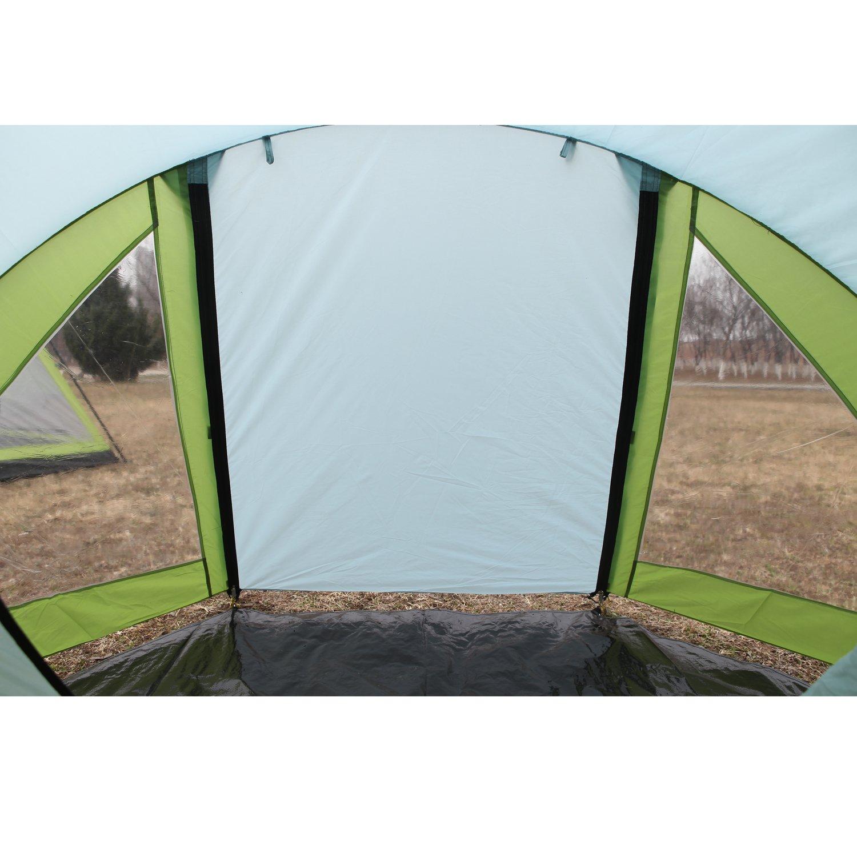 Tienda de campa/ña de 3 Estaciones f/ácil hasta 3000 mm Resistente al Fuego para Camping Senderismo KingCamp 3 Manos Impermeable Familia