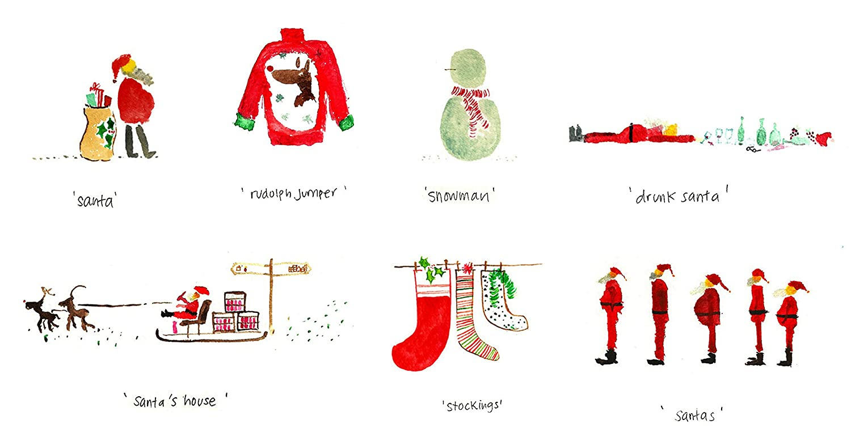 Amazon 10 Funny Christmas Cards Christmas Humour Greeting