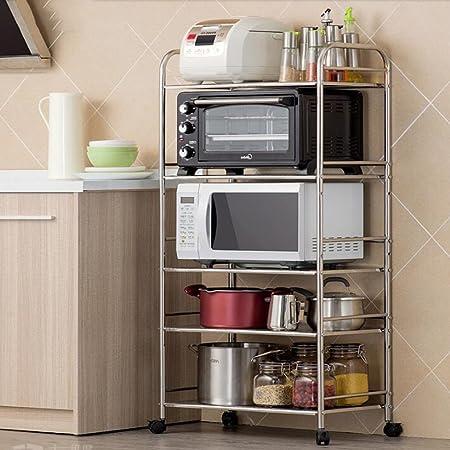 Racks Inc Estantería de Cocina para microondas con diseño de ...