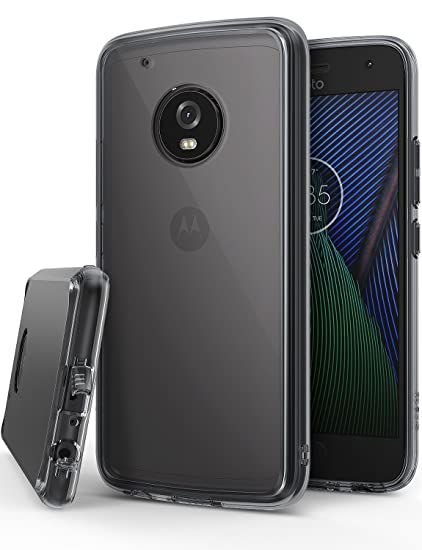 lowest price 1792c 3afd1 Ringke [Fusion] Compatible with Motorola Moto G5 Plus Case Crystal Clear PC  Back TPU Bumper Case [Drop Protection, Shock Absorption Technology] - ...