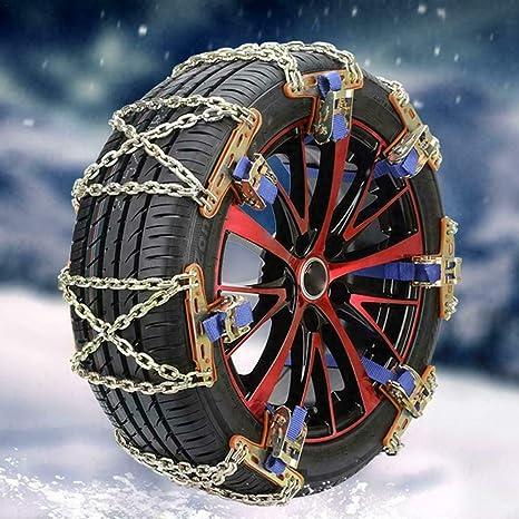 Riloer Anti Rutsch Kabel Notfallkette Auto Sicherheits Reifengürtel Schneereifen Ketten Für Auto Lkw Suv Anti Rutsch 1pc Auto