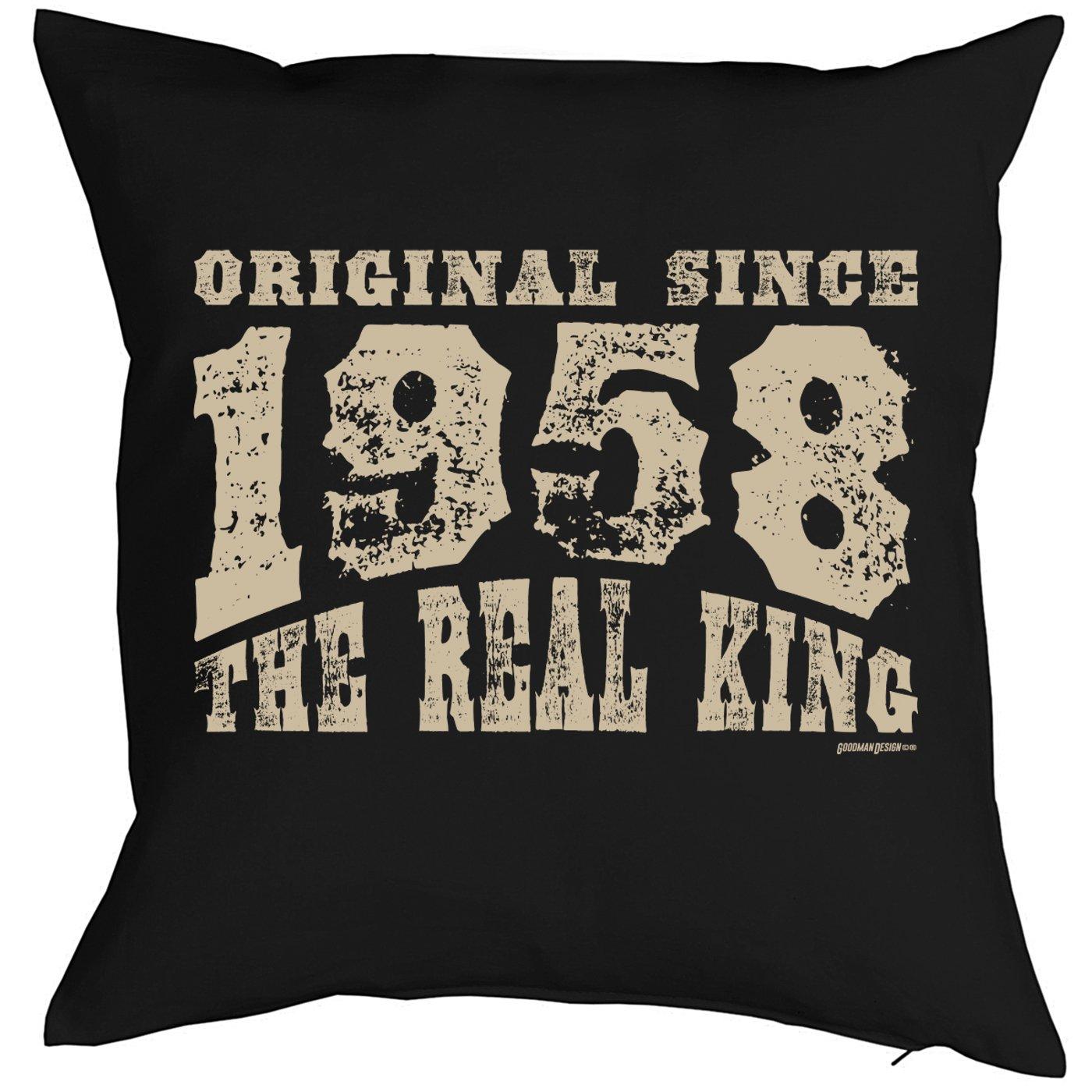 1958 jahrgang 60 cumpleaños regalo 1958 Nacida para él y ...