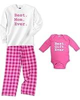 Best Mom Ever Bubblegum Pajamas - Best Gift Ever Baby Onesie (SOLD SEPARATELY)