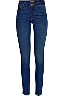 Ladies New UK Chain store woman Sand wash Denim Spandex Jeans Trouser