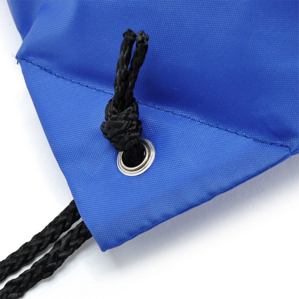 Yonger Drawstring Bag Pack Oxford cloth Folding Travel Sport Storage Drawstring Backpack Sack Bag Tote Bags by Yonger (Image #3)