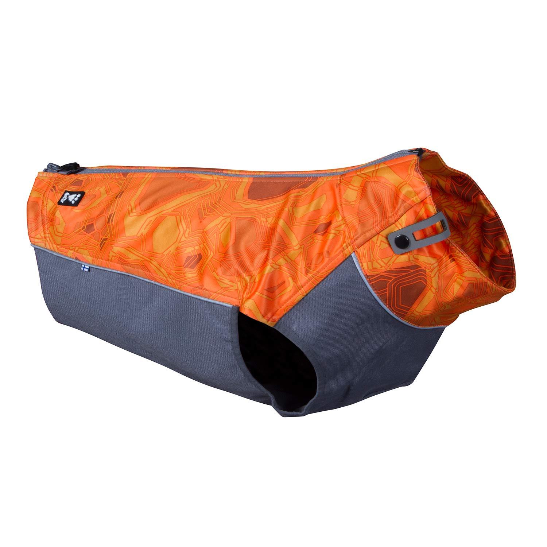 Hurtta Worker Vest, Hunting/Sportsman Dog Vest, Orange Camo, L