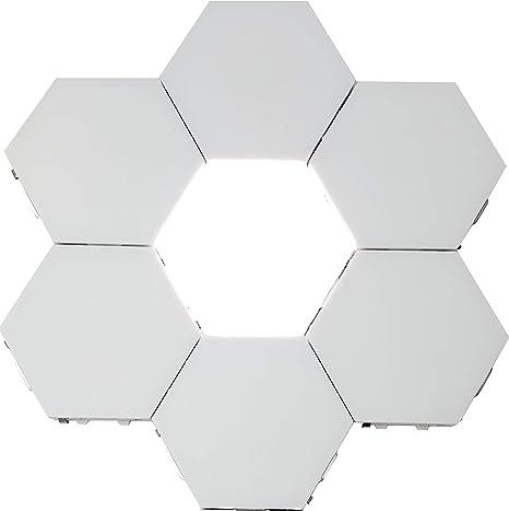 penophiary hexlight modular touch lights panels wall lighting tiles hex lights touch night light magnetic hexagonal wall light lamps hexagonal lights