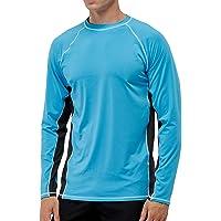 Arcweg Camiseta Deportivas Hombres Rash Guard con Filtro de Protección UPF 50+Mangas Largas Alta Elasticidad Secado…