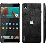 Noise OnePlus X Case/Back Cover + Free Tempered Glass, Noise Designer Premium PolyCarbonate Case Back Cover for OnePlus X [Slim fit, scratch & impact resistant MATTE finish] + Free Premium Tempered Glass (HD) - Screenguard (Apple rock)