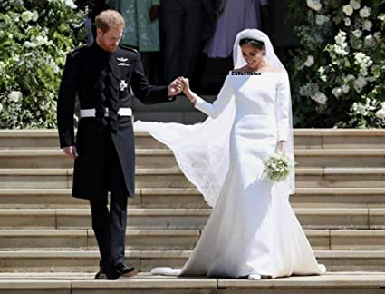 Megan And Harry Wedding.Amazon Com Forever Collectibles Megan Markle Prince Harry Photo