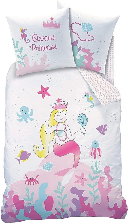 Meerjungfrau Bettwasche Kinder Mermaid Madchen Kinderbettwasche