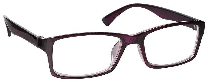 7a9a3f8e0b The Reading Glasses Company Purple Near Short Sighted Distance Glasses For Myopia  Mens Womens UVM092P -2.50  Amazon.co.uk  Health   Personal Care