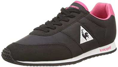 697f26a8ecaf Le Coq Sportif Women s Racerone W Trainers Black Size  5.5-6  Amazon ...