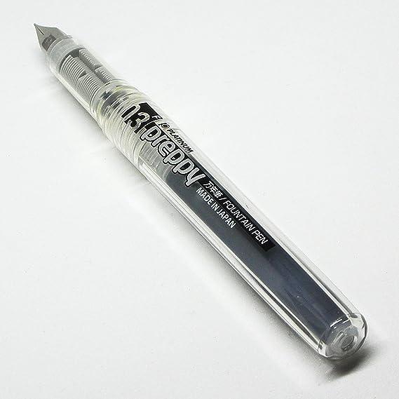 PPQ200-1 Platinum Preppy Disposable Black .3mm Fine Point Fountain Pen