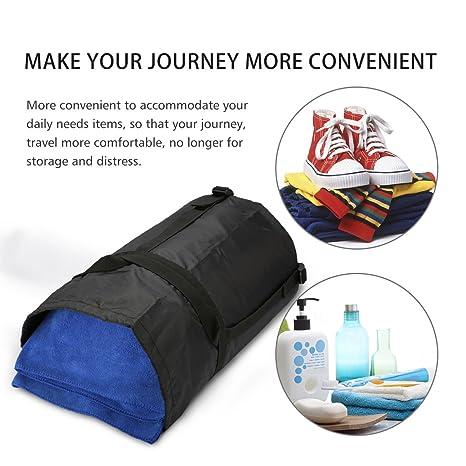 Bolsa de Compresión, CAMTOA Nylon Saco de Compresión, Ligera Bolsa de Compresión para Saco de Dormir, Perfecto para Llevar Al Aire Libre.