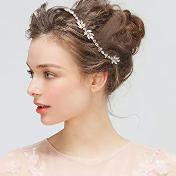 Bridal Hair Comb Crystals Rhinestone Headdress Hair Comb Headpiece for Wedding