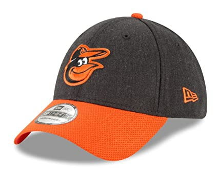 the latest fa7ca 60254 New Era Baltimore Orioles Heathered Black Orange Change up Redux 39THIRTY  Flex Fit Hat (