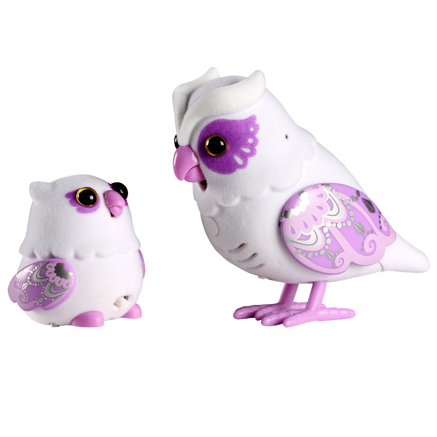 Little Live Pets S2 Tweet Talking Owl And Baby - Graceling Family by Little Live Pets (Image #1)