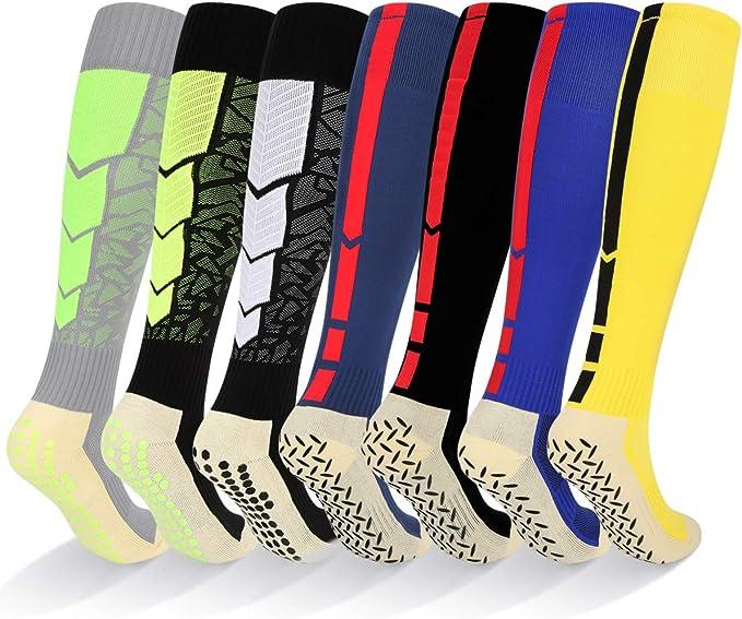 Amazon.com: YUEDGE - Calcetines de fútbol para hombre ...