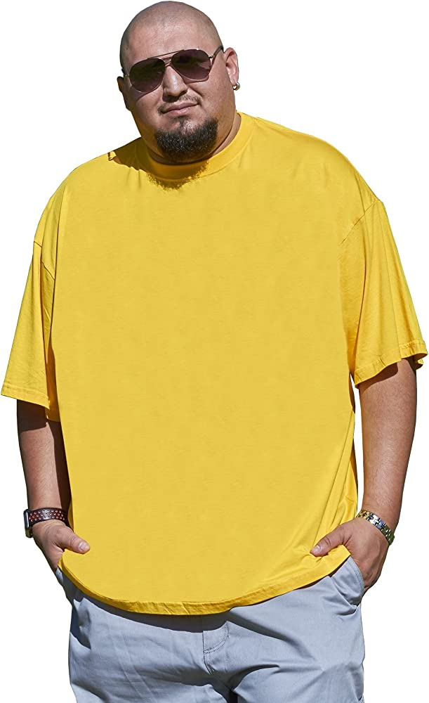 f29fd8a7 Big Boy Bamboo Big and Tall T-Shirt for Men - Short Sleeve Tee with