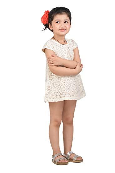 7669553cfa55 KidsDew Girls Dresses Baby Girls Frock Dress  Amazon.in  Clothing ...