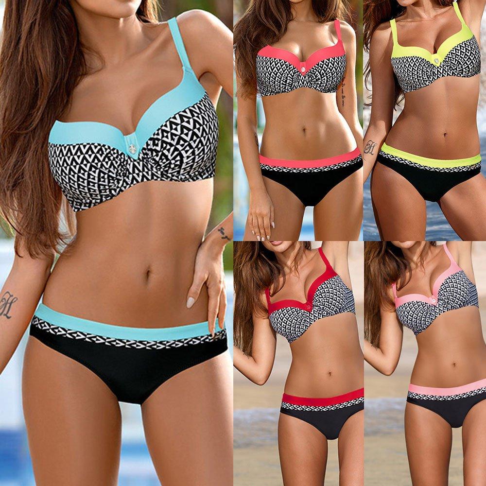 _Traje de baño Mujer, Bikini para Mujer Ropa De Playa ...