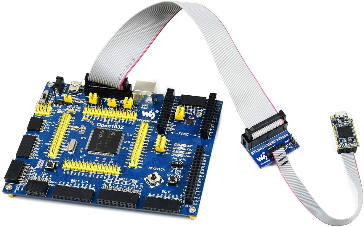 Waveshare STLINK-V3MINI Compact in-Circuit Debugger and Programmer for STM32 Microcontrollers
