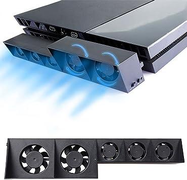Ventilador de refrigeración para PS4 Turbo – ElecGear Externo USB ...