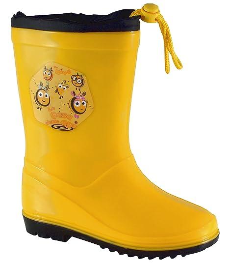 9b98b378f La colmena para niños Botas de agua botas de Wellington cordón ligero  Character botas de lluvia