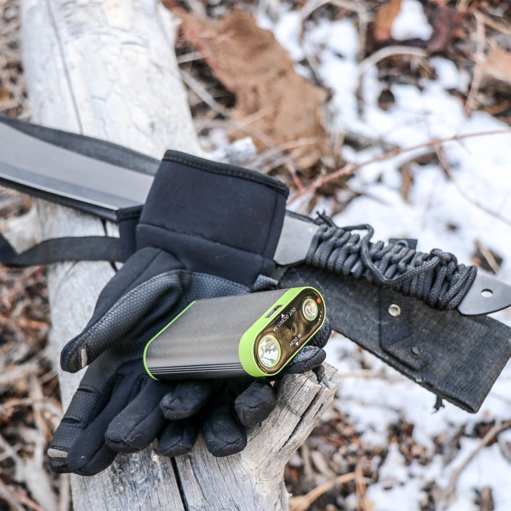 Bigfoot Outdoor Electric Hand Warmer w//USB Power Bank and Flashlight Bigfoot Outdoor Products