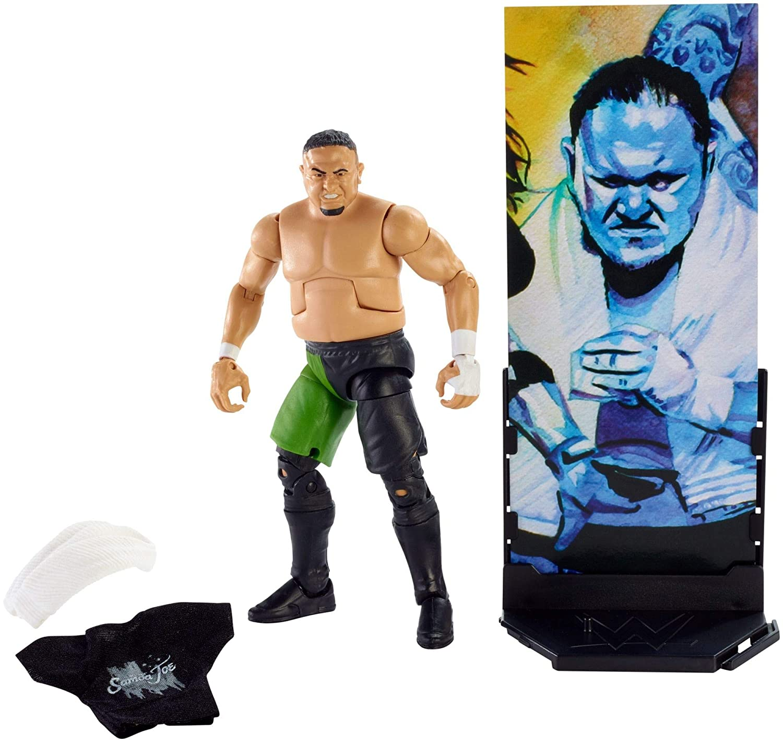 WWE Mattel Samoa Joe Series 70 Figure Loose