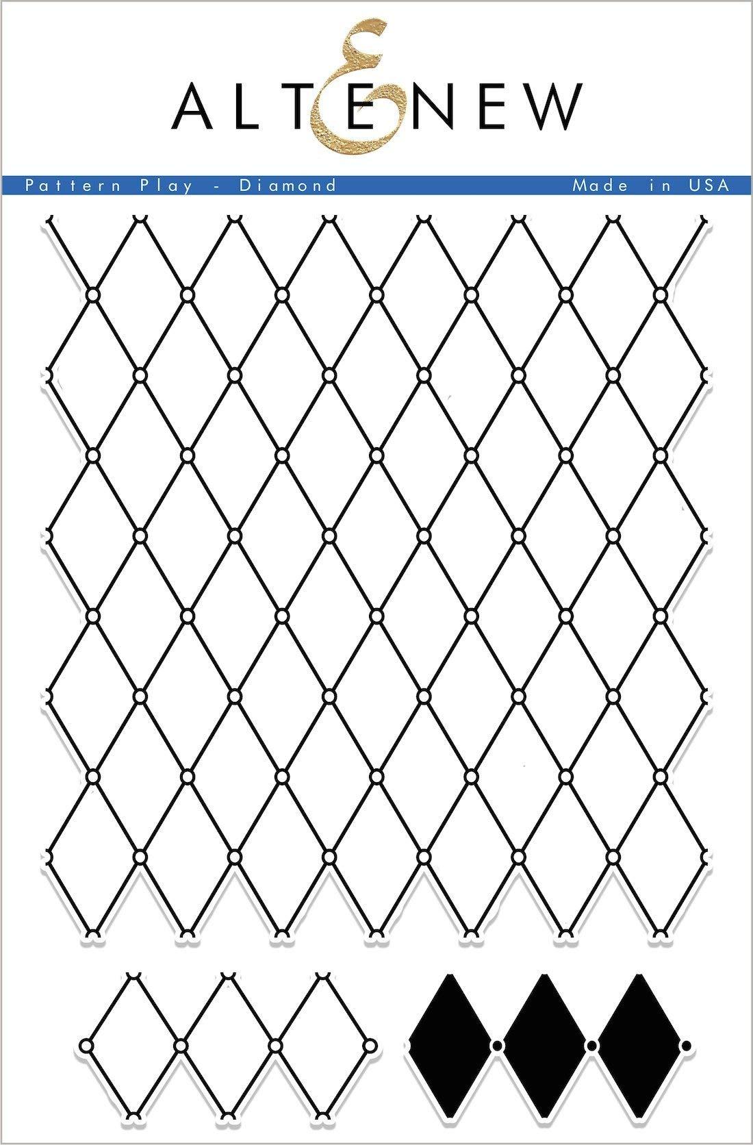 Pattern Play - Diamond Stamp Set by Altenew