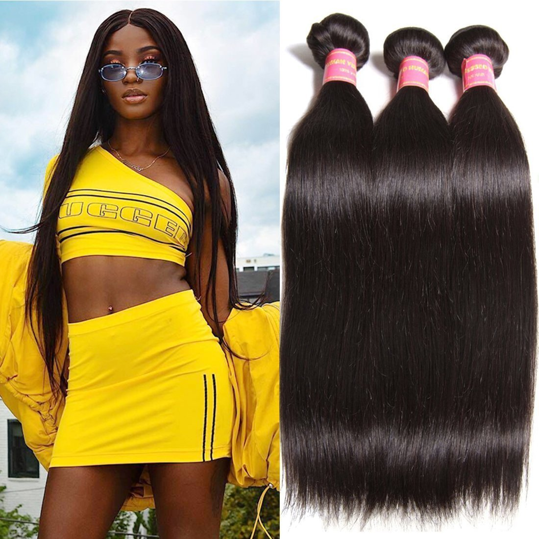 Amazon Ali Julia Wholesale Malaysian Virgin Straight Hair