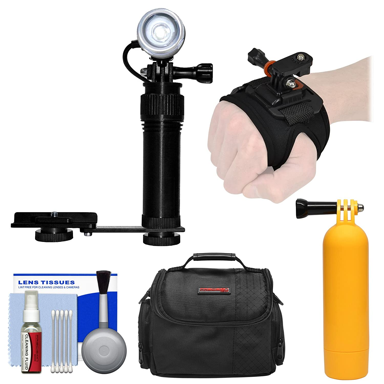 Intova i-avl水中LEDアクションビデオライト、カメラブラケットマウント手手首マウント+ハンドルグリップフロートブイ+ケース+キット   B06XHRKFVK