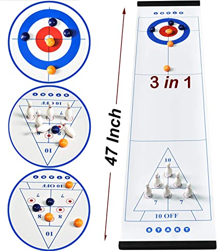 Compact Bowling Tabletop Game for Kids and Family