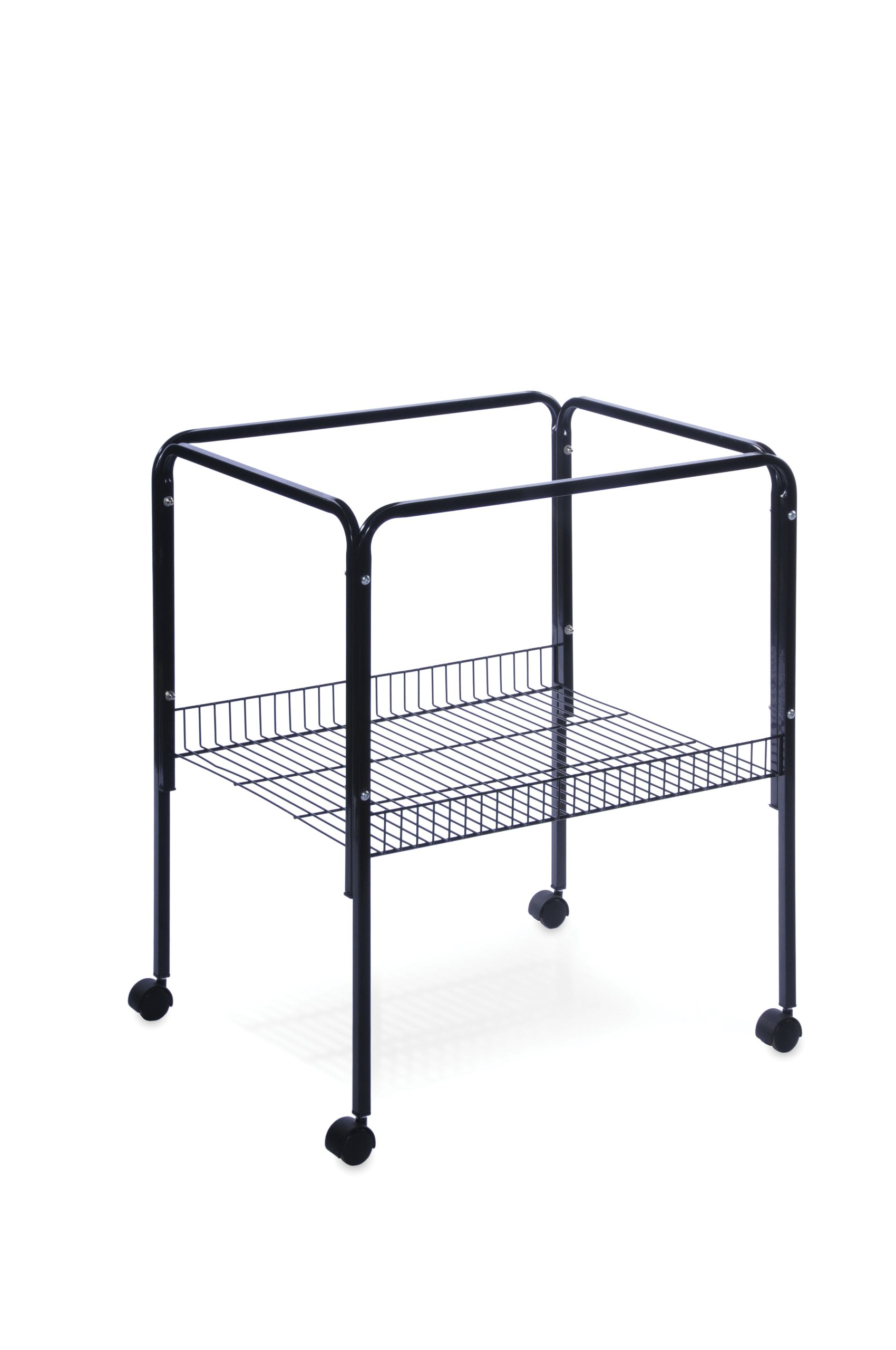 Prevue Pet Products Rolling Stand with Shelf, Black by Prevue Hendryx