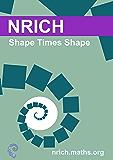 Shape Times Shape activity sheet