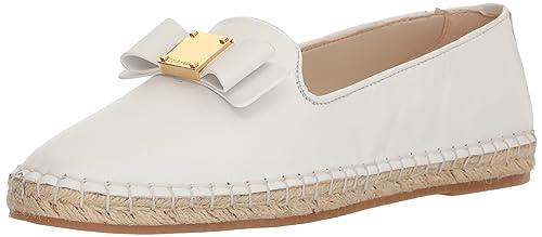 Cole Haan - Tali de Esparto con Lazo para Mujer, Blanco (Cuero Blanco), 9 B(M) US: Amazon.es: Zapatos y complementos