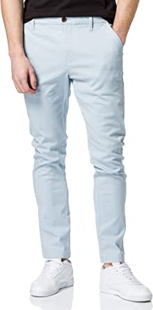 MERAKI Pantalones Chinos Ajustados de algodón Hombre