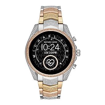 Smartwatch Michael Kors Bradshaw 2 Gen 5 Silver Gold Rose Diamonds ...