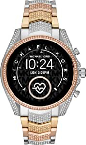 Michael Kors Access Gen 5 Bradshaw Smartwatch- Powered with Wear OS by Google with Speaker, Heart Rate, GPS, NFC, and Smartphone Notifications