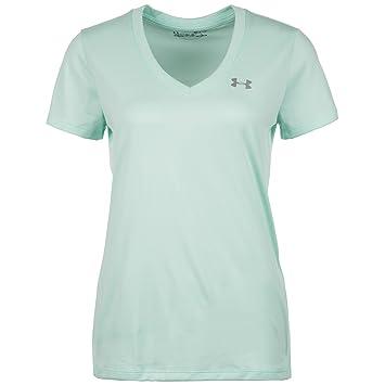 Under Armour Tech SSV-Solid Camiseta de Manga Corta, Mujer, Refresh Mint (703), XS: Amazon.es: Deportes y aire libre